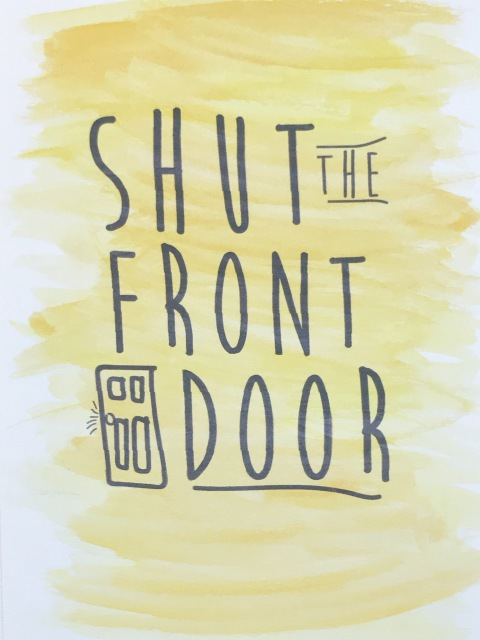 Charming Shut The Front Door Meaning Contemporary Image Design
