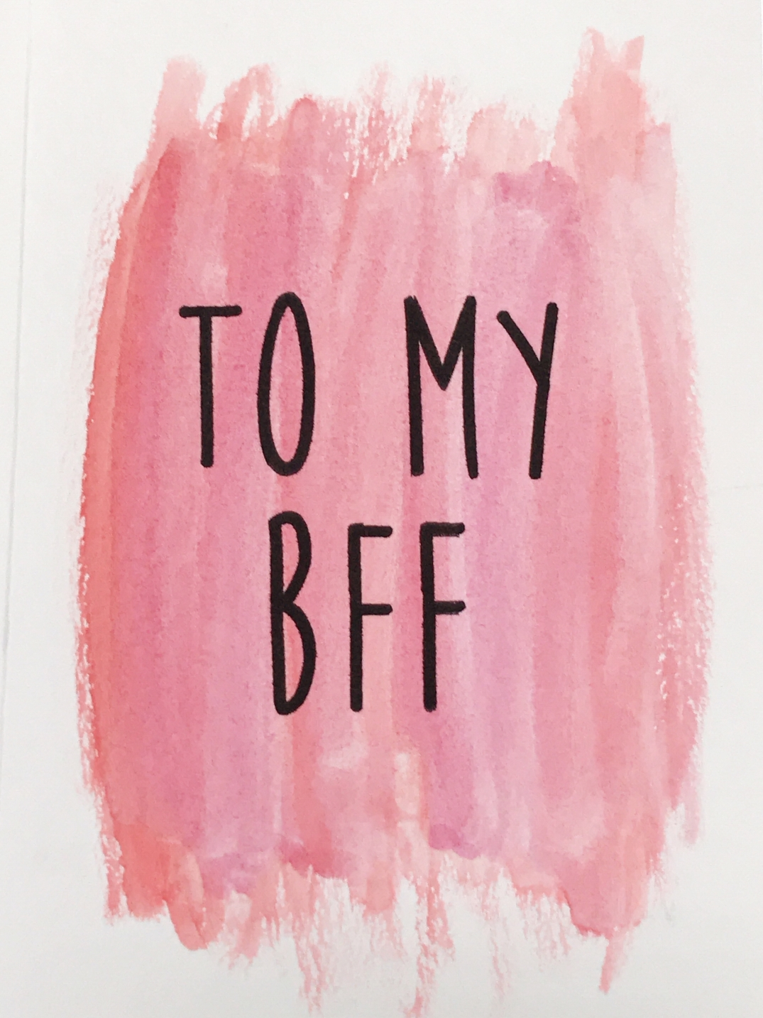 to my bff elley may design